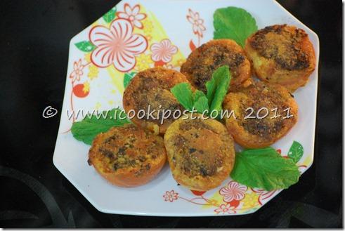 Gobhi stuffed tamatar