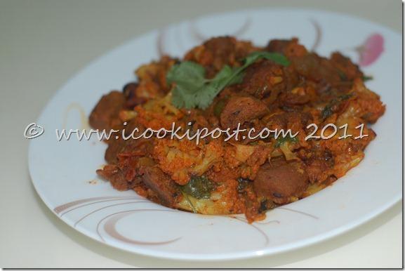 Soya -Gobhi Masala (2)