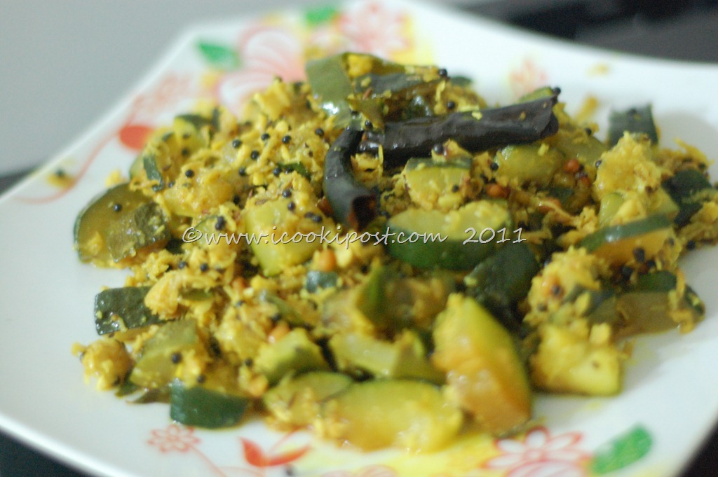 Zucchini stir fry zucchini thoran icookipost zuchini stir fry 2 forumfinder Choice Image