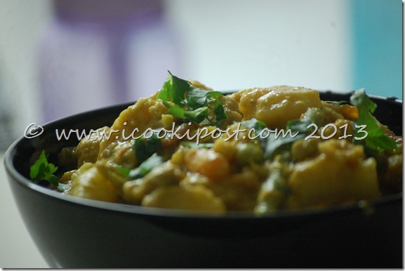 Vegetable Korma (2)
