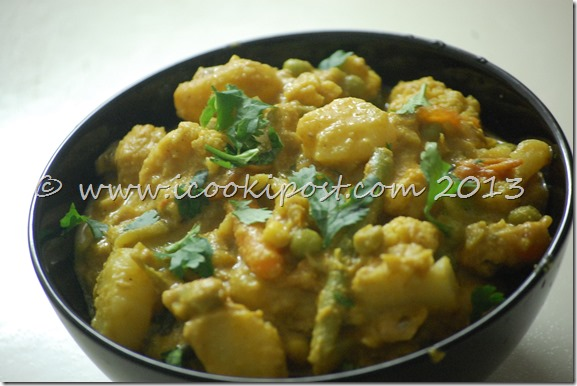 Vegetable Korma (3)