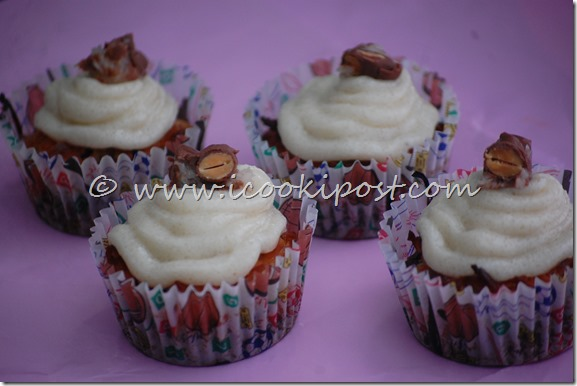 Chocolate Almond joy cupcakes (8)
