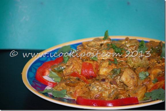 Mushroom Tikka Masala (2)