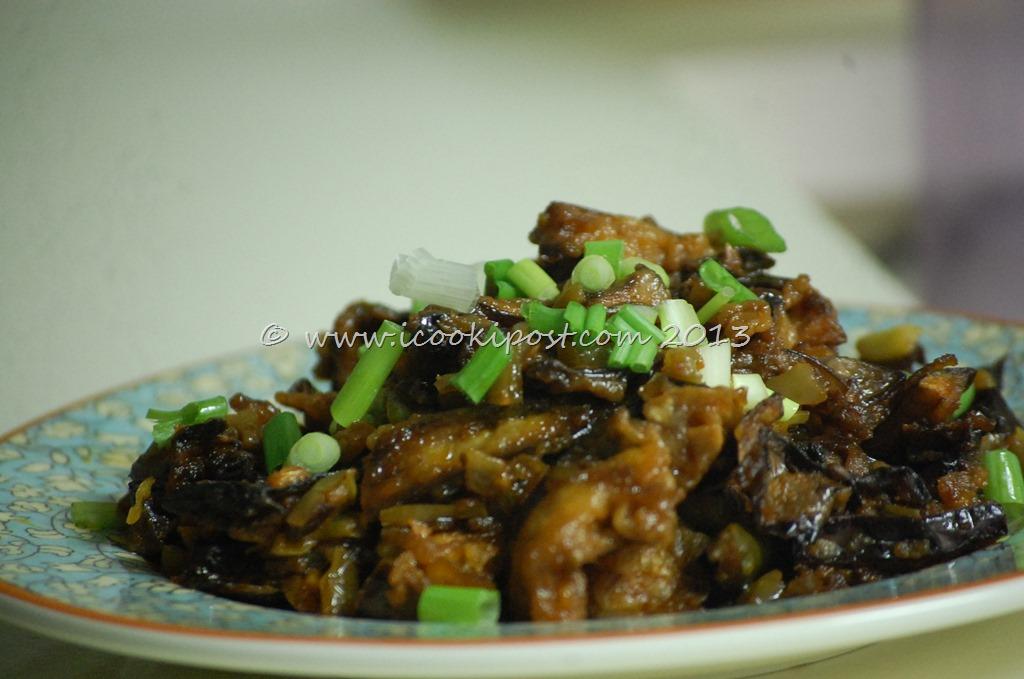 Vazhuthananga Manchurian/Eggplant Manchurian/Brinjal Manchurian