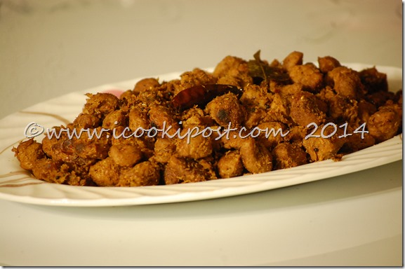 Soya Chunks Roast (2)